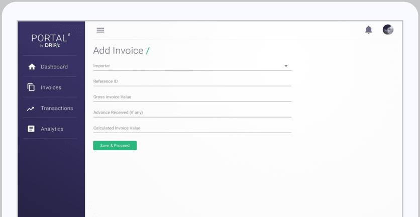 Add Invoice Screenshot